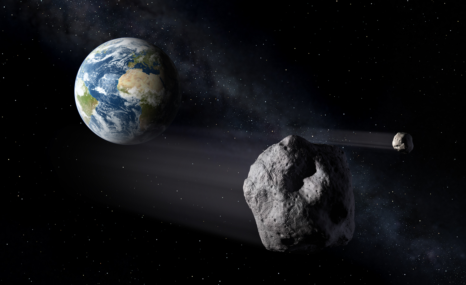 3-mile wide asteroid to pass near Earth tonight, may hit us in future