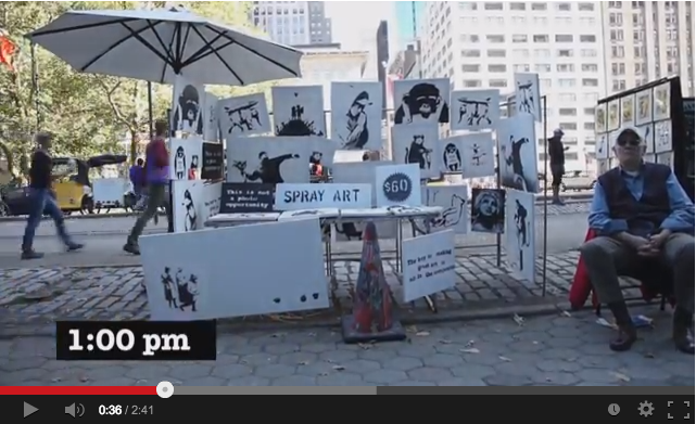 Must-see morning clip: Banksy sold art to unsuspecting New Yorkers for $60 a pop