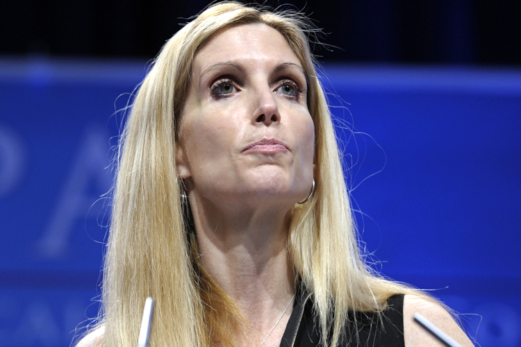 Ann coulter suck you