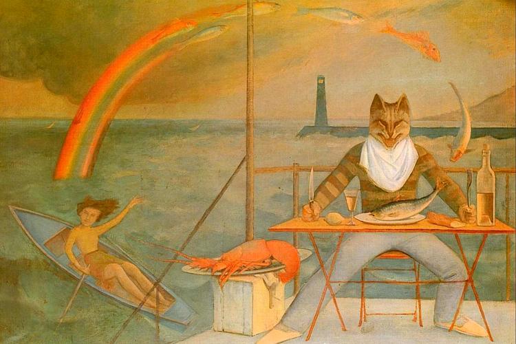 balthus cat - photo #1