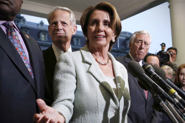 "Nancy Pelosi: ""We can't be enablers anymore"""