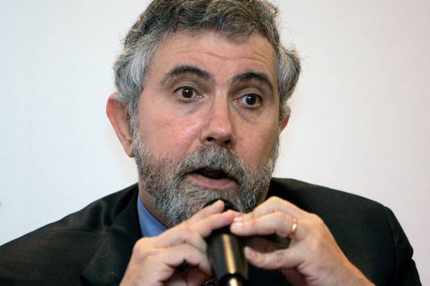 "Paul Krugman slams Wall Street for ""undermining our economy and our society"""