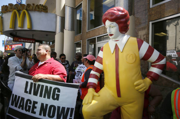 McDonald's tells workers to