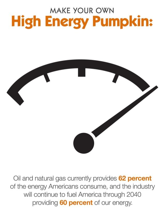 Pumpkin wars renewables vs gas and oil salon