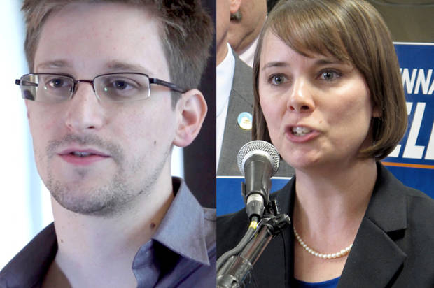 Snowden is a whistle-blower, not a criminal  :    Shenna Bellows, Maine Democrat U.S. Senate candidate