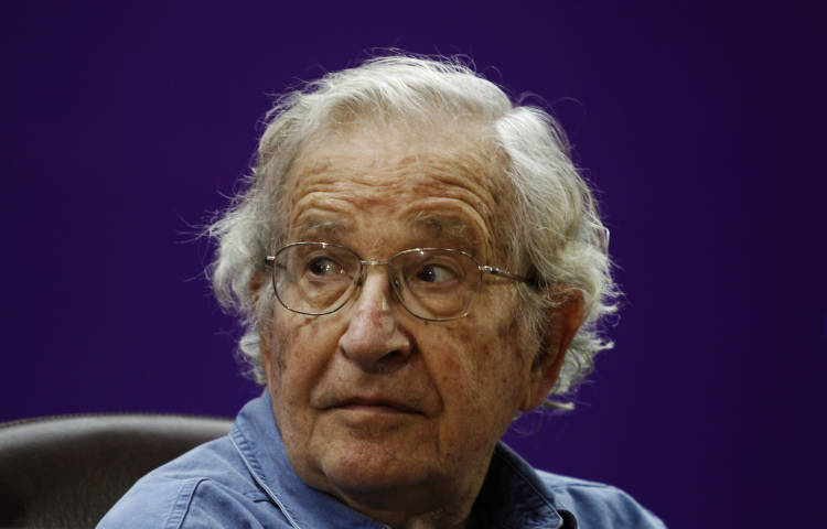 Noam Chomsky: America is a terrified country