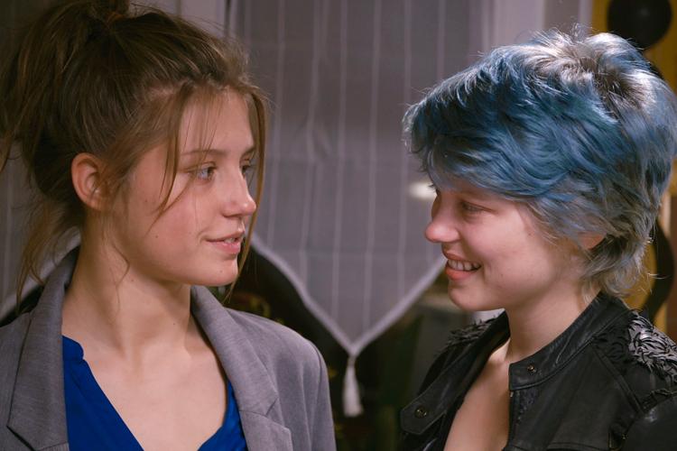 Lesbian Double Dildo College