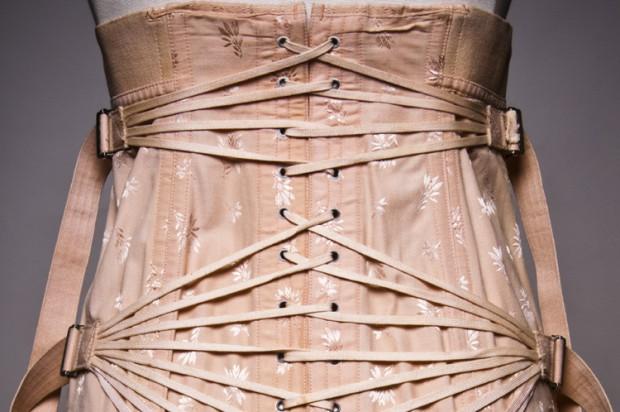 strappy corset