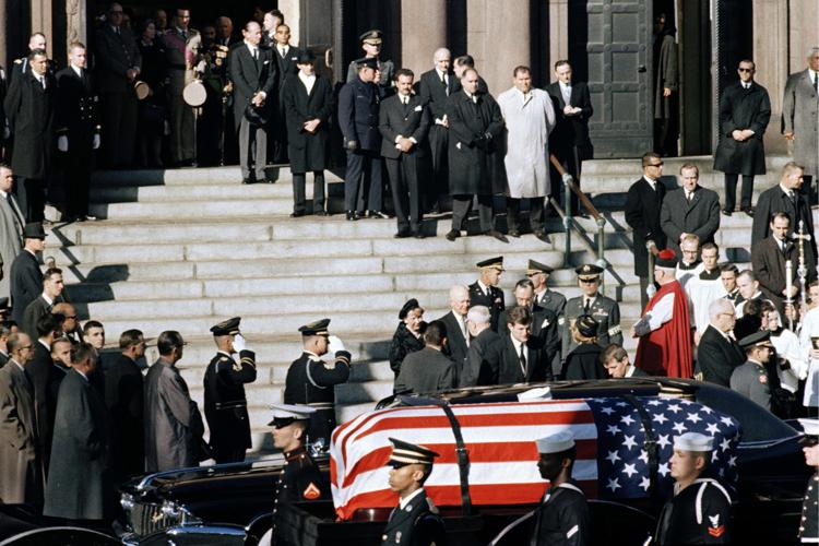 Image result for jfk funeral dc