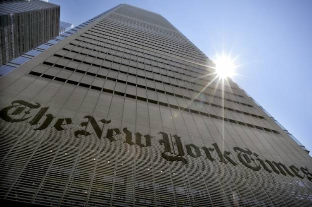 Chomsky's right: The New York Times' latest big lie