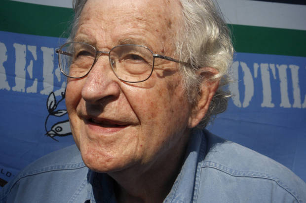 Noam Chomsky: America is a plutocracy masquerading as a democracy