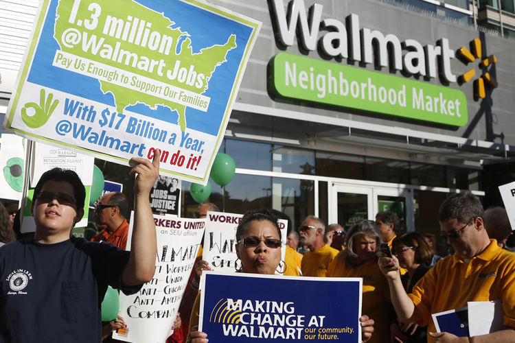 wal mart and labor union opposition South africa's largest labor group came out against wal-mart's $46 billion offer to buy massmart.