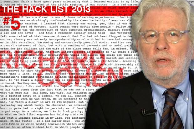 Hack List No. 5: Richard Cohen