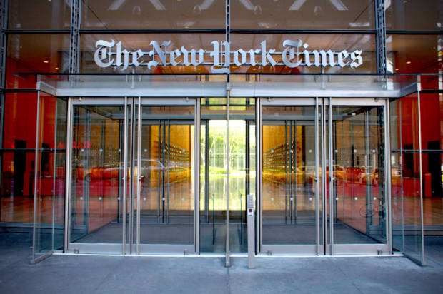 Our embarrassing, servile media: Does the New York Times just print everything the government tells it?