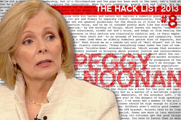 Hack List No. 8: Peggy Noonan