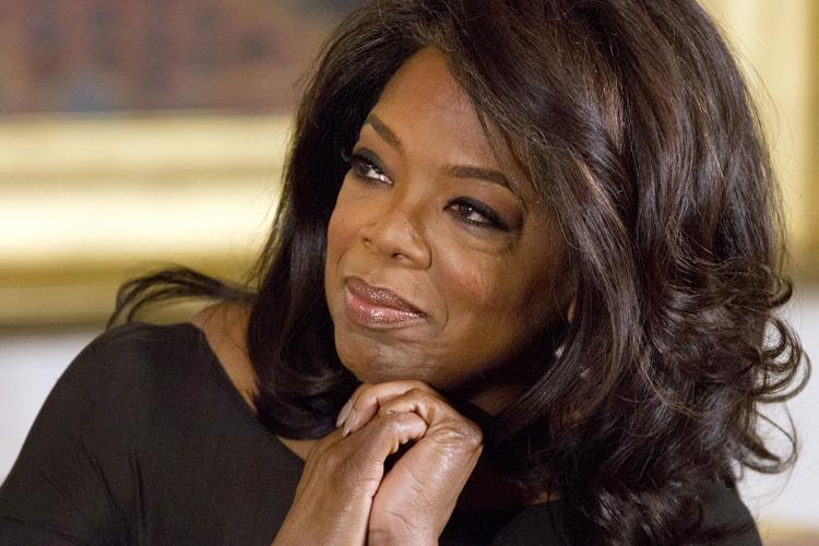 Oprah Winfrey 2013 No Makeup Don't cry f...