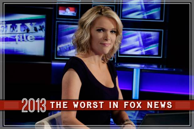 Fox News' 5 worst moments of 2013