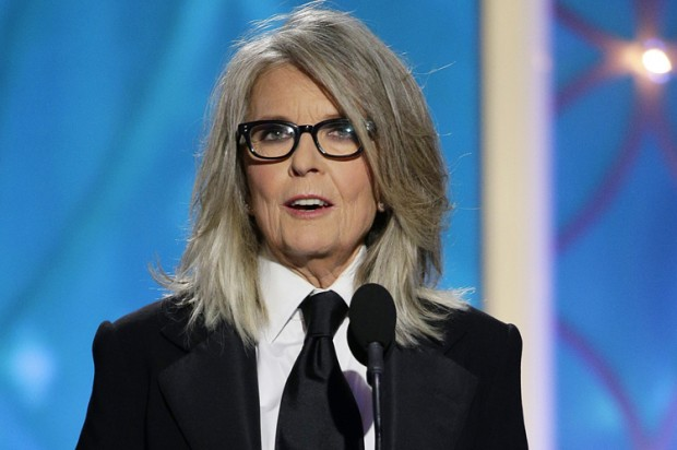 Diane Keaton's #GoldenGlobes speech spotlights #WoodyAllen's complicated history with women
