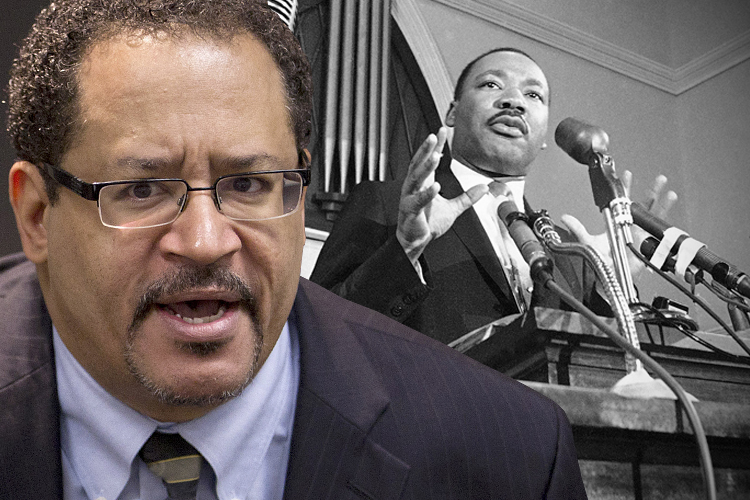 Compare and cotrast the political ideologies of Dr. Martin Luther King Jr. and Malcolm X.?