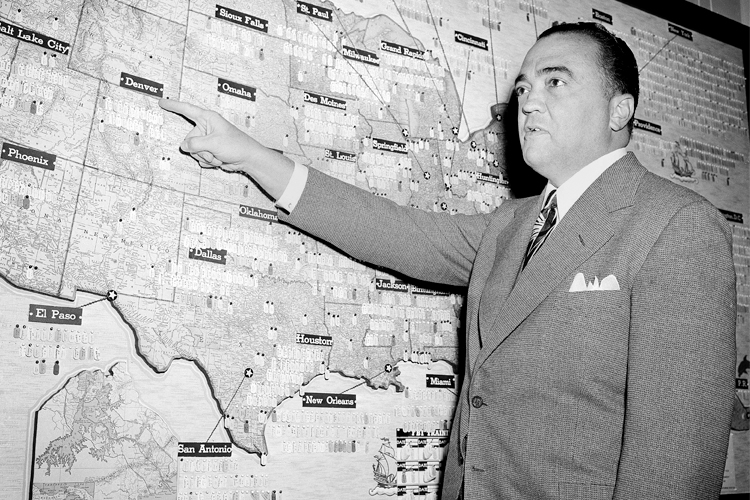 a biography of j edgar hoover the first appointed director of the american bureau of investigation 'secret life of j edgar hoover' new book investigates the work and rumors surrounding the private life of an american icon and fbi legend.