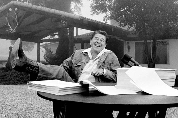 Ronald Reagan and the occultist: The amazing story of the thinker behind his sunny optimism