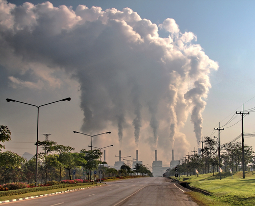 Fighting climate change could end up costing more than for Pollution fighting plants