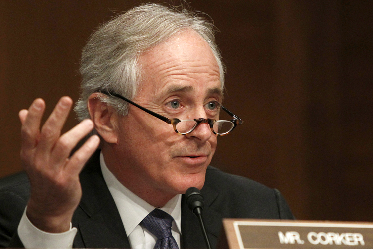 CORKER SAYS VW HAD TO PRODUCE TWO CARS IN TENNESSEE PLANT TO SURVIVE.