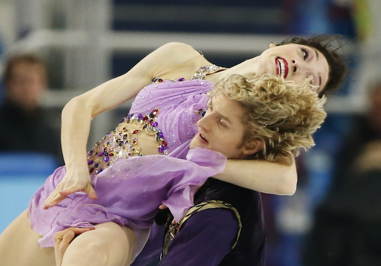 Sochi Olympics Ice Dancers Go Gold And Jamaican