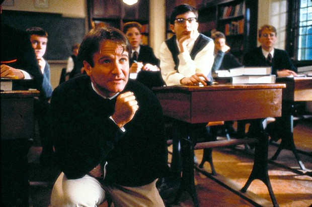 dead poets society film study Dead poets society is a 1989 movie starring robin williams and directed by peter weir it is set in the ultra-conservative and highly prestigious welton academy, an aristocratic public school in the northeastern united states, and tells the story of john keating, an innovative english teacher who.