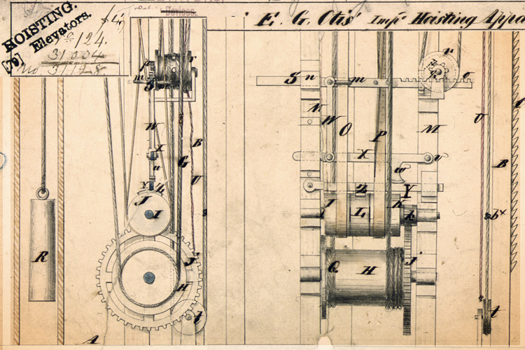 The most important invention in the history of the modern city ... Old Otis Elevator Wiring Schematics on mitsubishi wiring schematic, ford wiring schematic, ge wiring schematic, trane wiring schematic,