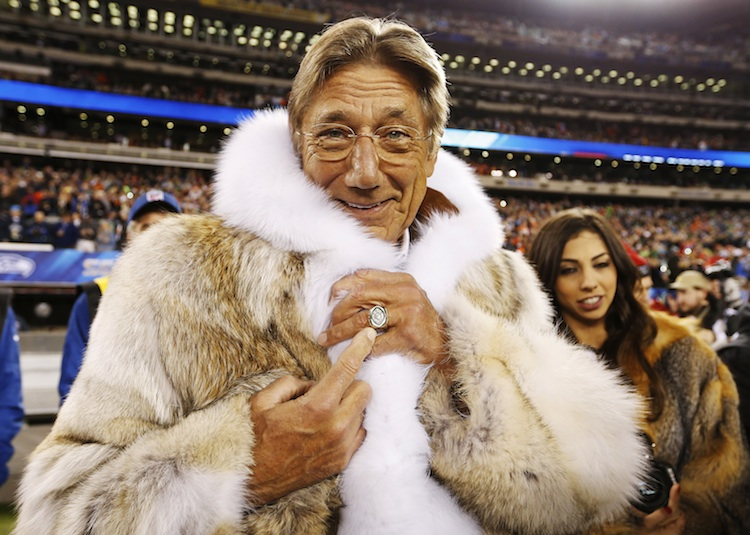 Joe Namath S Super Bowl Coat Goes Viral Salon Com