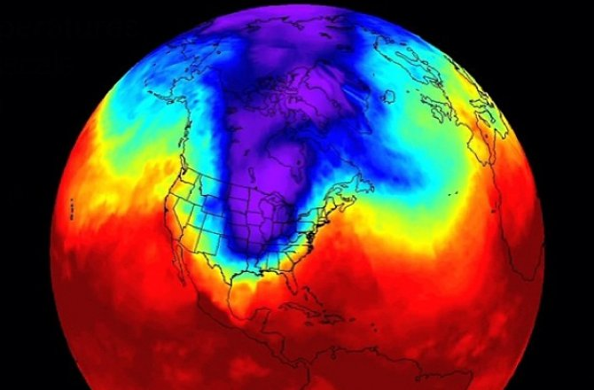 Scientists find the POLAR VORTEX is shifting