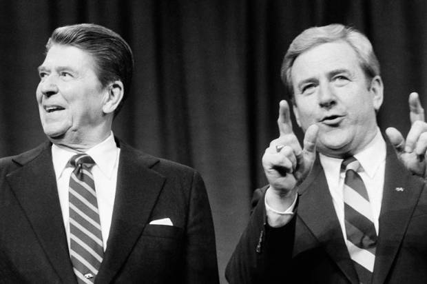 the rise of ronald reagan in politics and the new right in the 1980s in america Morning in america  and his message, personality, and politics dominated the 1980s  ronald reagan built a new coalition for the republican party in his quest.