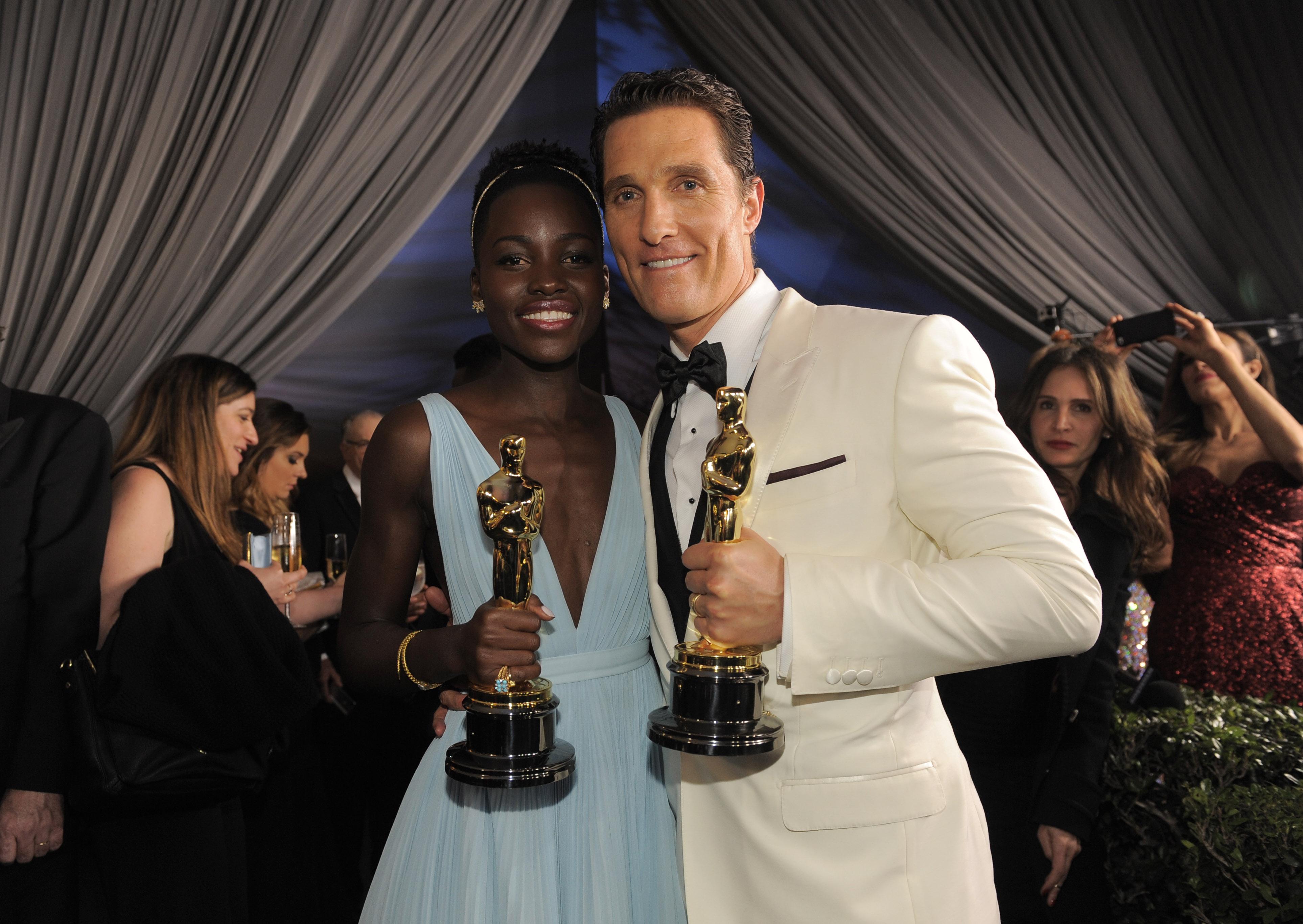 Buy Here Pay Here Dallas >> Lupita Nyong'o vs. Matthew McConaughey: How his Oscar speech got it so wrong   Salon.com