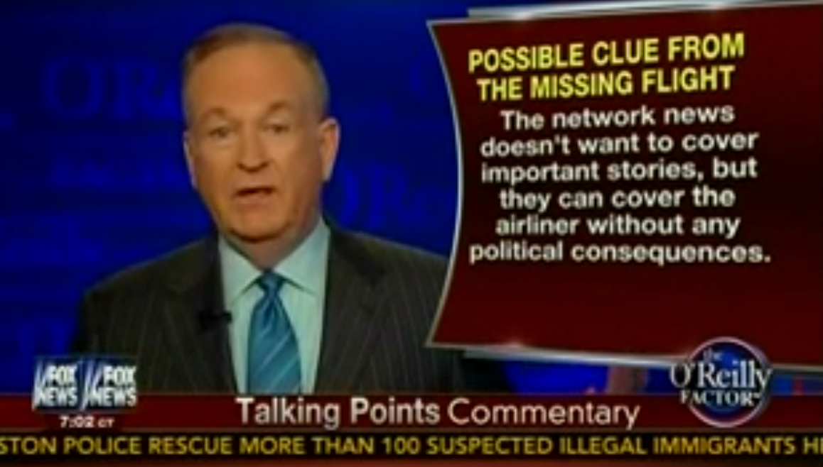 Fox News stoops even lower! O'Reilly and Geraldo's embarrassing ...
