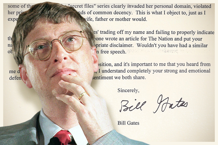 bill gates research papers