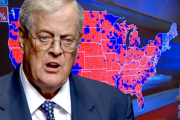 Liberals favorite villain why democrats really love to for David koch usa