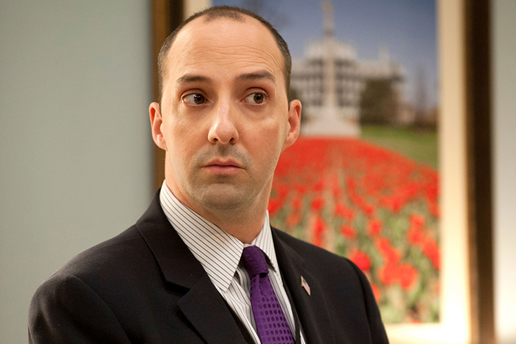 Tony Hale On His Clingy Veep Body Man He S A Little Close To Serial Salon