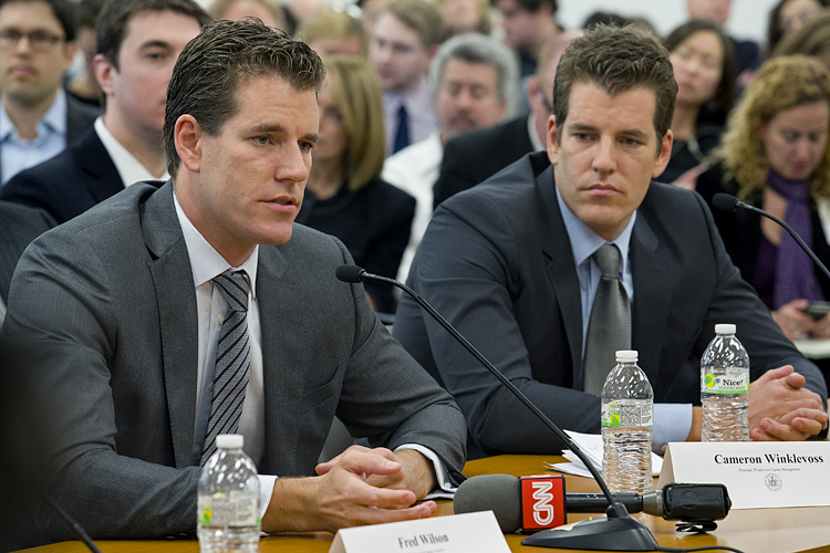 Winklevoss brothers want to use their bitcoins to become astronauts