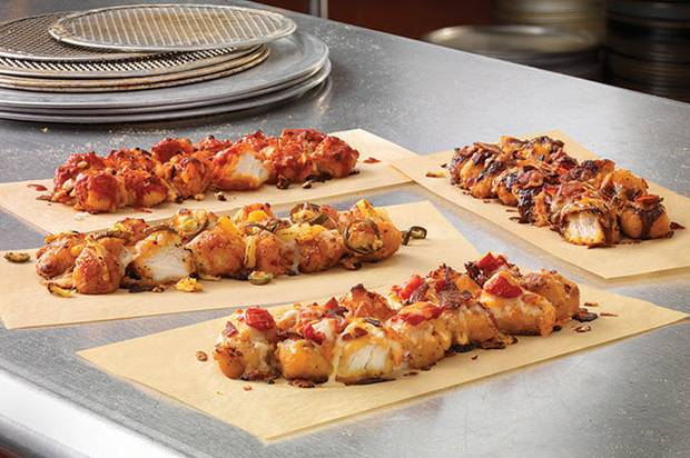 Domino s just replaced its pizza crust with fried chicken for Dominos pizza salon