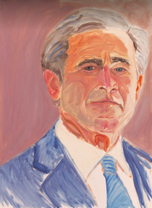 George W Bush portrait