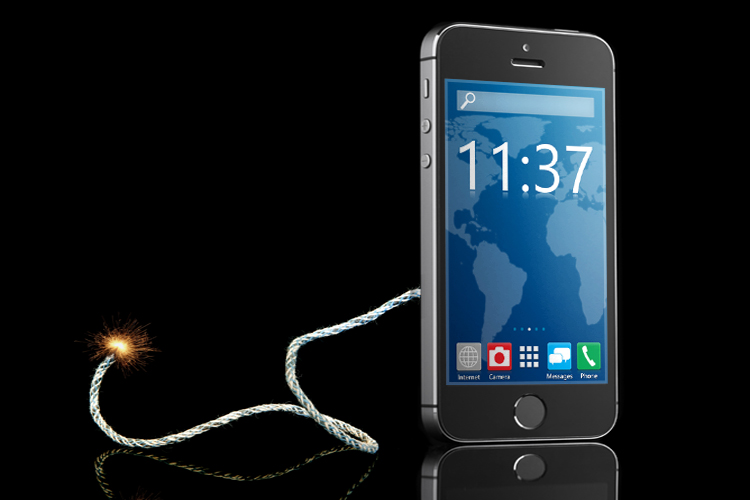 how to break a phone without physical damage