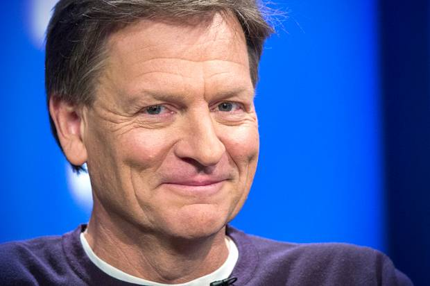 "Michael Lewis hits back: ""There's been a lot of people mouthing off without actually thinking about the book"""