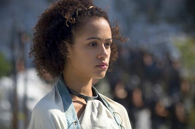 """Nathalie Emmanuel opens up: Sex, slavery and """"Game of ... Daario Naharis"""