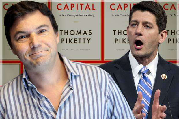 Thomas Piketty terrifies Paul Ryan: Behind the right's desperat