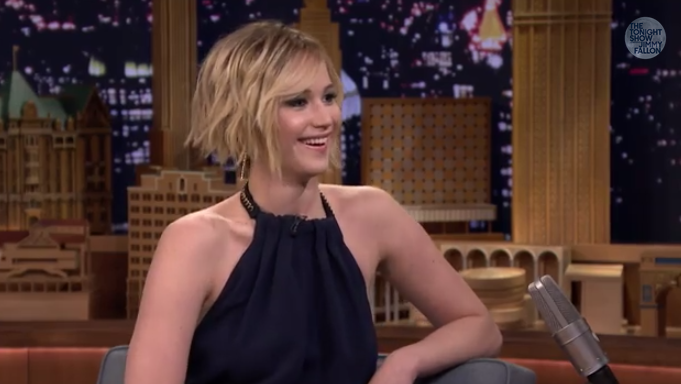 Jennifer Lawrence and Jimmy Fallon tried to dance with J ...