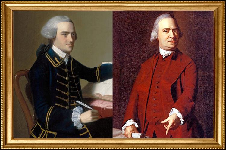 John Hancock And Samuel Adams Fascinating Alliance Family Economics The Road To American Revolution