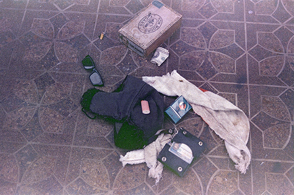 Kurt Cobain Suicide Crime Scene Photos Found at the crime scene,
