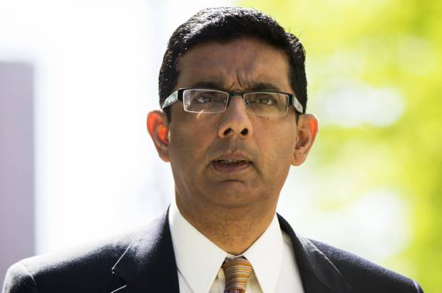 "Dinesh D'Souza's laughable embarrassment: A review of ""America: Imagine the World Without Her"""