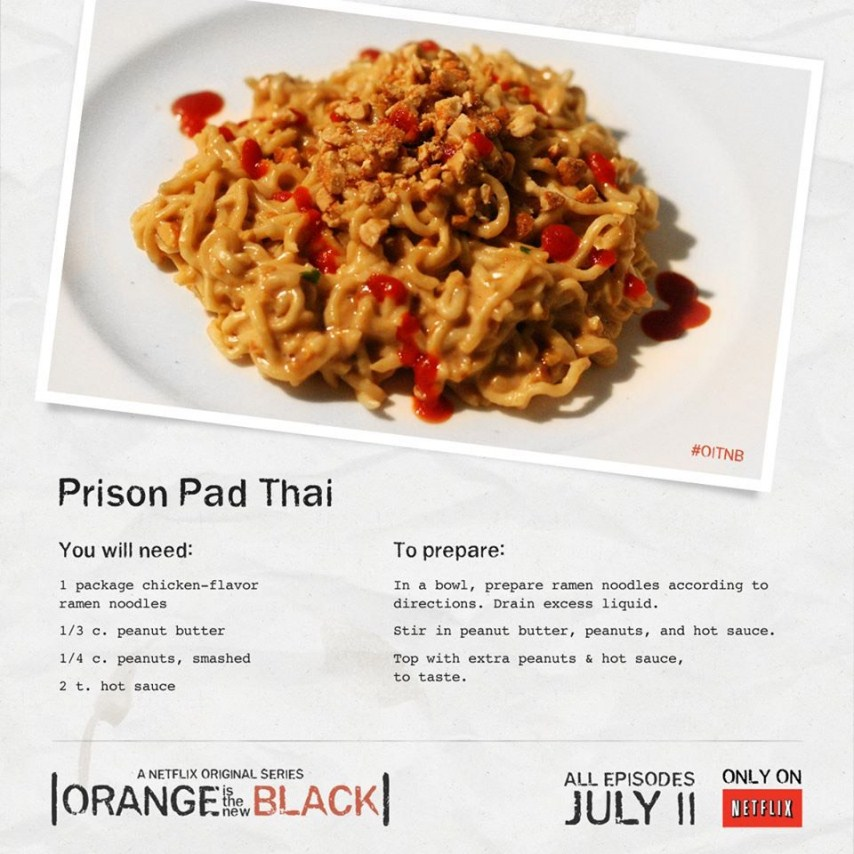 Amazing image throughout jailhouse recipes printable